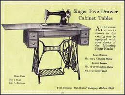 Singer Treadle Sewing Machine Parts Australia