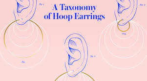 Hoop Earring Chart Hoop Earrings At Every Size A Shopping Guide Stylecaster