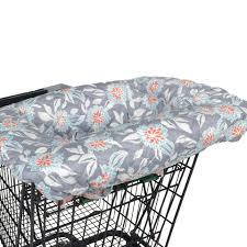 balboa baby shopping cart cover  grey dahlia  toysrus