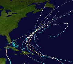 List Of Bermuda Hurricanes Wikipedia