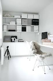 nice office decor. Wonderful More Nice Ideas In This Office Space But A Little Too White For The Kids Decor E