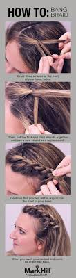 Braided Bangs Hairstyles 10 Easy Hairstyles For Bangs To Get Them Out Of Your Face How To