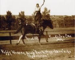 My great aunt Hazel Walker aka Peggy Warren at the 1916 Pendleton Round-Up.    Pendleton round up, Pendleton, Old pictures