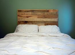 Endearing DIY Queen Headboard Diy Queen Size Pallet Headboard 101 Pallets