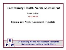 Assessment Cool Facilitated By FACILITATOR Community Health Needs Assessment CHNA