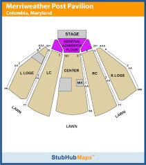 Blakes Blog Merriweather Post Pavillion Seating Chart