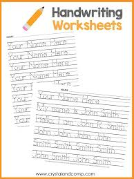 Handwriting Worksheets Maker Trace Name Worksheet Tracing Worksheets Maker Handwriting Preview 1