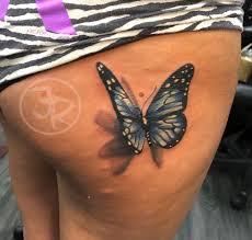 Tattoo Uploaded By Eric Richardz 3d Butterfly Butterflytattoo