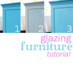 Tutorial: How to Paint and Glaze Furniture