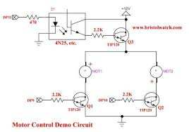 arduino solid state relay motor control state relay circuit schematic on dc motor control circuit schematic