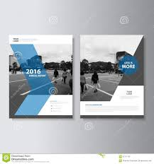 vector leaflet brochure flyer template a4 size design annual report book cover layout design abstract blue
