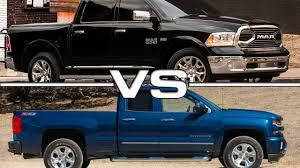 2016 Dodge RAM 2500 vs 2016 Chevrolet Silverado 1500 - YouTube