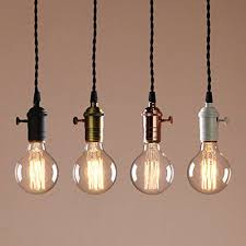 hanging pendant lighting. Amazon.com: Permo Single Socket 1-light Mini Pendant Braided Textile Cord Vintage Hanging Light (Antique): Home \u0026 Kitchen Lighting