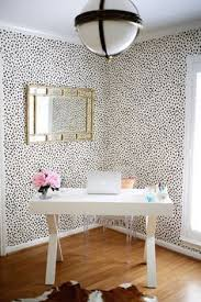 office wallpaper ideas. Thibaut Tanzania Wallpaper With Circa Lighting Pendant Office! Office Ideas G