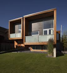 Architecture:Unique Inverted Architectural House Design With Wooden Wall  Exterior Ideas Beautiful Superb Architecture Design