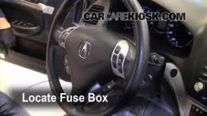 blown fuse check 2004 2008 acura tsx 2008 acura tsx 2 4l 4 cyl interior fuse box location 2004 2008 acura tsx