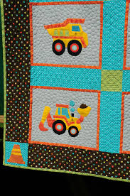 Birthday Party Quilts | Trends and Traditions & Carter's train quilt has been to 3 parties, as you can see. This quilt  combines piecing and applique. It's an original design of my Mom's, ... Adamdwight.com
