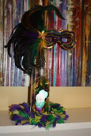 how to make a mardi gras centerpiece or decoration toulousentonic