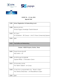 Agenda List Agenda And List