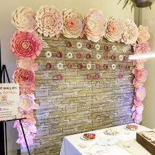 Paper Flower Wall Rental Paper Flower Wall Rental Magdalene Project Org