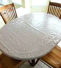 vinyl table covers elastic tablecloth 90 inch round vinyl table covers