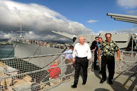 u s department of defense photo essay  defense secretary robert m gates tours the uss missouri memorial ford island hawaii 31 2011 dod photo by cherie cullen