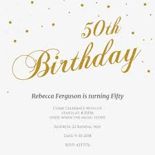 gallery of fiftieth birthday invitations amazing surprise 50th invitation templates free template