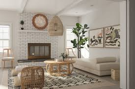 fiber lounge sofa animal painted wall art decorative industrial rattan 1 light chandelier round distressed wood cocktail table white diamond area rug