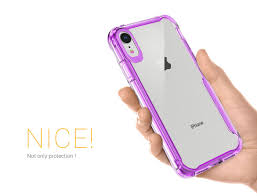 Crystal Light Case X Defender Crystal Light Purple _iphone Xr Xs Max_x Fitted
