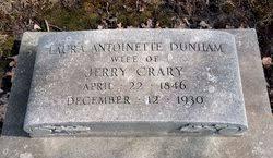 Laura Antoinette Dunham Crary (1846-1930) - Find A Grave Memorial