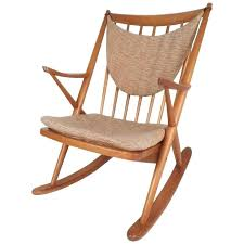 modern rocking chair mid century frank for danish at philippines