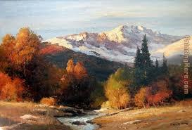 sunrise in the high sierra painting robert wood sunrise in the high sierra art painting