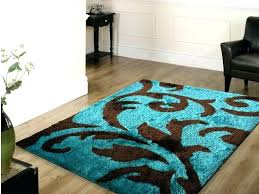 good blue and brown area rug or brown area rug chocolate 52 blue brown cream area