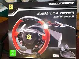 Thrustmaster racing wheel ferrari 458 spider edition for xbox one forza 6 review. Ferrari 458 Spider Racing Wheel Stand Page 1 Line 17qq Com