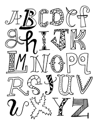 Cool Ways To Draw The Letters