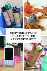 13 DIY Toilet Paper Roll Crafts For Various Purposes