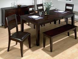 dining room table with bench dining room table bench diy