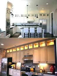 over cabinet kitchen lighting. Fine Kitchen Above Kitchen Cabinet Ideas Best Cabinets On  Add Extra  String Lights  To Over Cabinet Kitchen Lighting