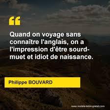 Quand On Voyage Sans Connaître Langlais On A Limpression