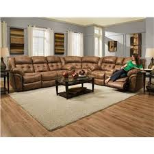 HomeStretch Padre Almond Reclining Sofa Great American Home