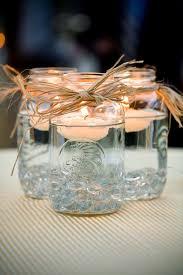 Decorating Jam Jars For Candles Mason Jar Centerpieces Floating Candles Emmaline Bride 58