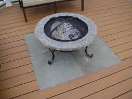 furniture fire pit for deck best outdoor diy gas propane under covered mat small