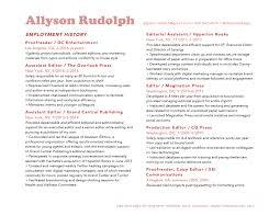 Resume Allyson Rudolph