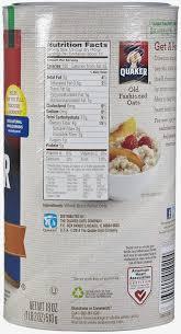 amazon quaker standard oatmeal old fashioned 15 oz oatmeal