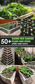 Small Picture 50 Free Raised Bed Garden Plans And Ideas That Are Easy To Build