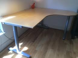 modern ikea galant desk for office dark hardwood flooring with corner ikea galant desk also
