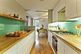Functional Long Narrow Kitchen Ideas Designs And Cabinets Decoration in  Narrow Kitchen Ideas