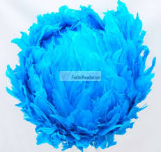 Decorative Feather Balls Stunning Turquoise Feather Balls Rose Balls Wedding Centerpieces Large