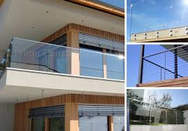 high quality balcony stainless steel glass railing design terrace railing designs