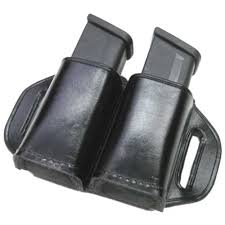 Magazine Belt Holder Stallion Double Stack Leather Magazine Holder LOWEST PRICES 76